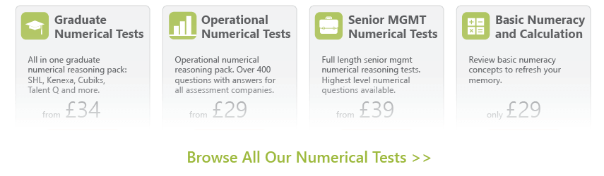 Numerical Reasoning Products