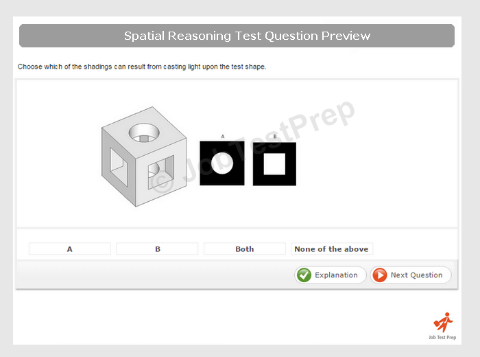Spatial Awareness Test Sample
