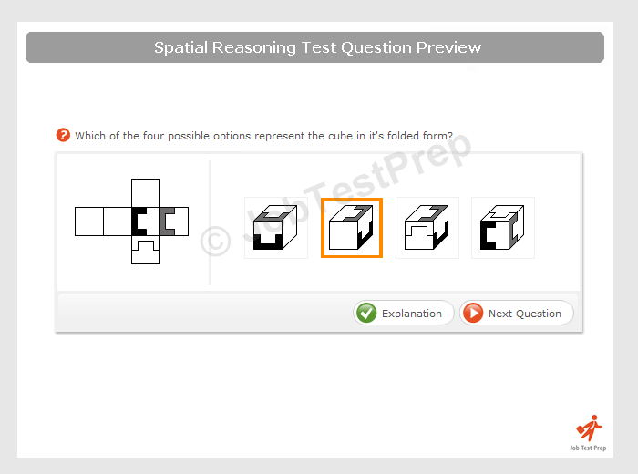 Spatial Reasoning Test - Examples, Online Practice and ...