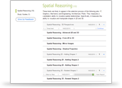 Spatial Awareness/Reasoning Test Account Preview