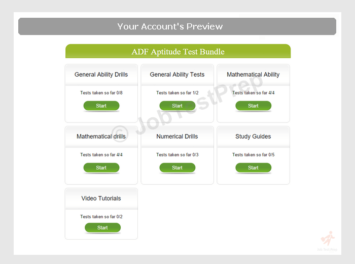 33 PRACTICE APTITUDE TEST FOR ADF, ADF TEST FOR APTITUDE