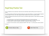 Royal Navy Psychometric Test