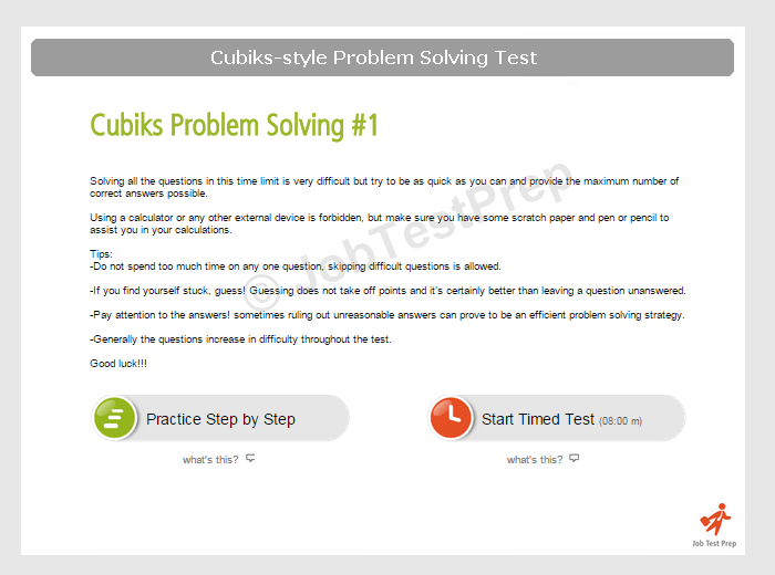 Picture of problem solving