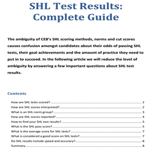 JobTestPrep's Free Psychometric Tests Guides: PDF Download