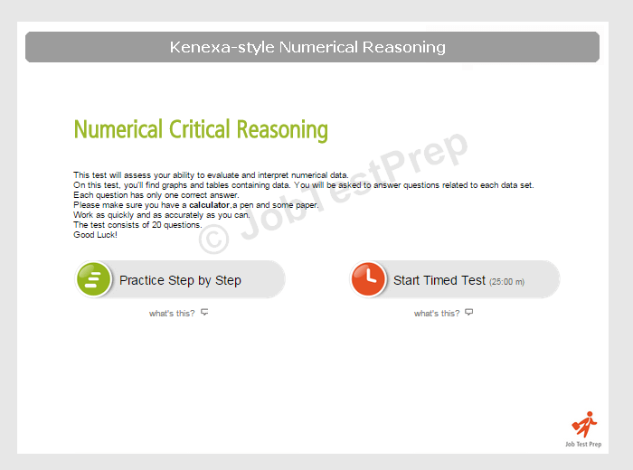 BT Numerical Reasoning (kenexa-style)