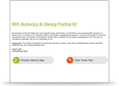 NHS Numeracy & Literacy Test