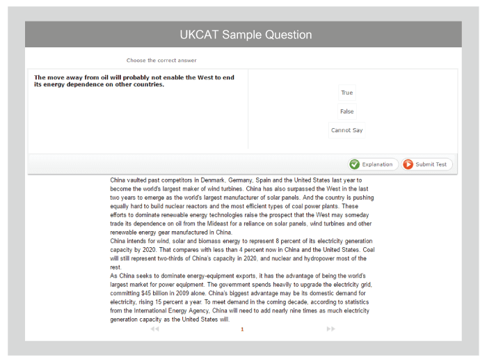 ukcat situational judgement - practice and free samples here