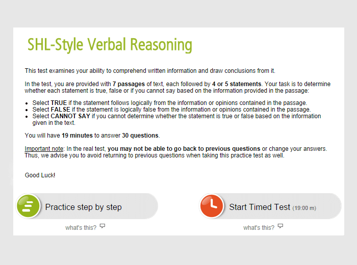 Ceb verbal reasoning test answers crimini e peccati la shl direct practice test answers ebook download fandeluxe Choice Image