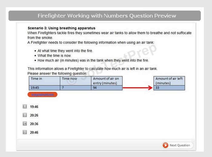 london fire brigade aptitude tests