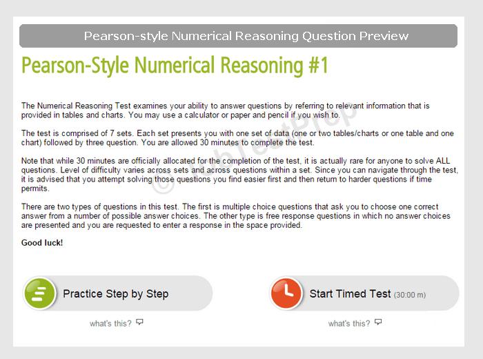 Deloitte Numerical Reasoning Test Practice