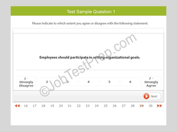 16PF Questionnaire Practice Tests & Sample Questions - JobTestPrep