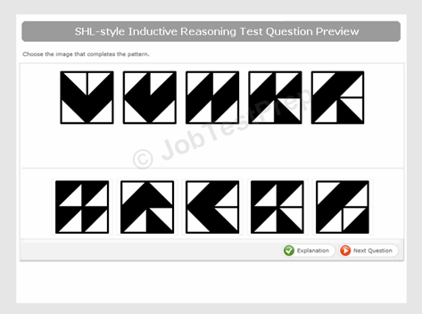 PwC CEB SHL-Style Inductive/Logical Reasoning Practice Test