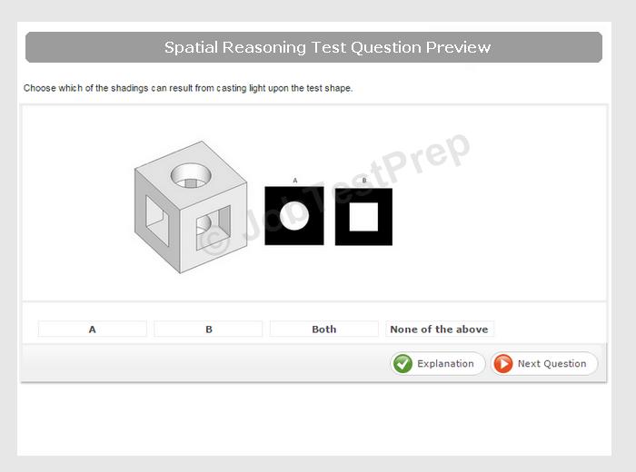 spatial reasoning test