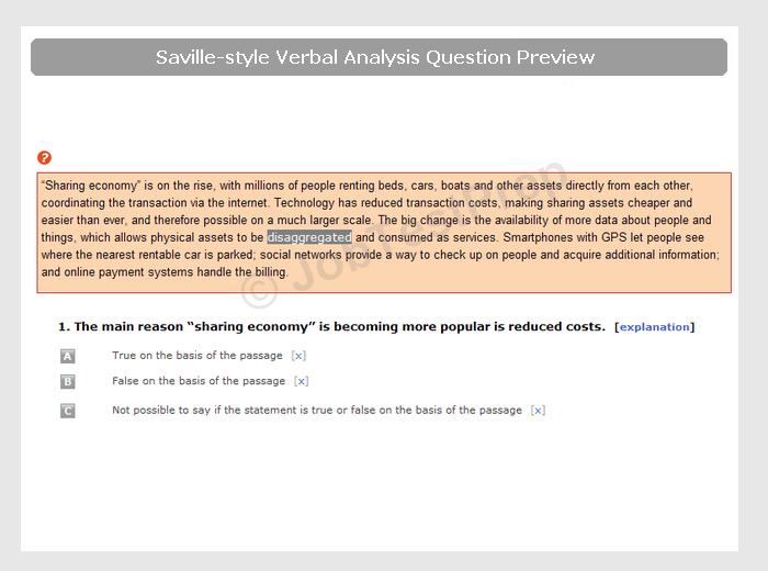 Free Verbal Reasoning Test Practice|Questions & PDF - JobTestPrep