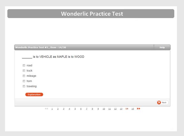 Beat the Wonderlic | The Leader in Wonderlic Test Prep