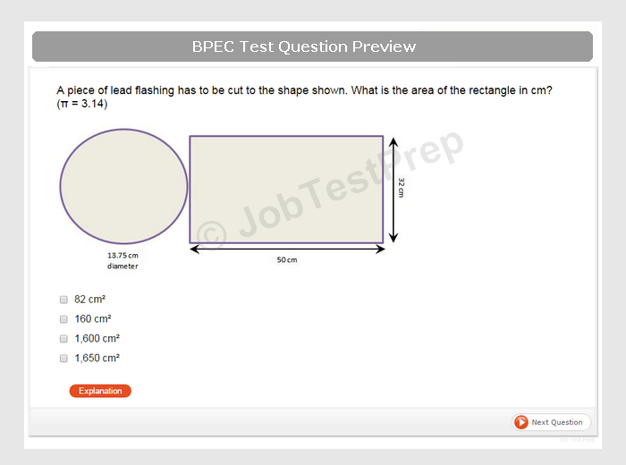 bpec aptitude test preparation