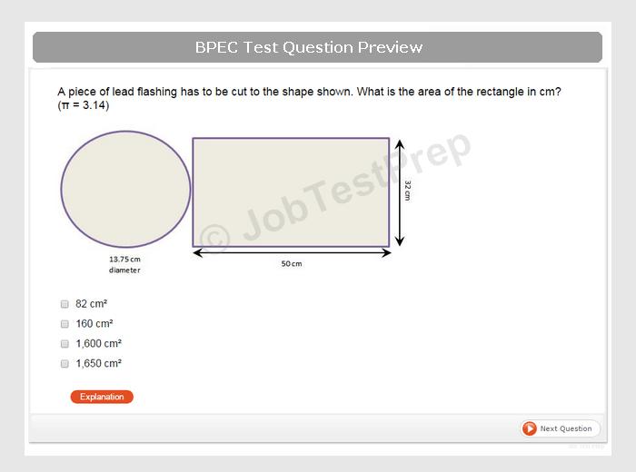 Bpec Aptitude Test Preparation Jobtestprep