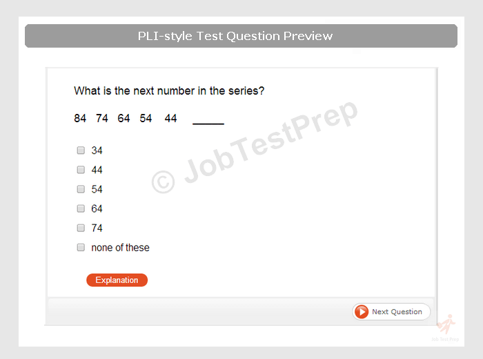 pi li  pli  test preparation  practise online prior to