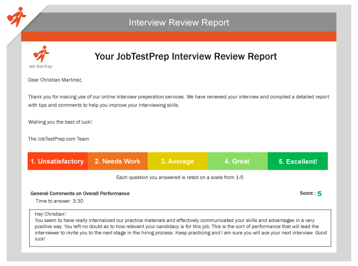 Competency-Based Interview Questions & Answers - JobTestPrep