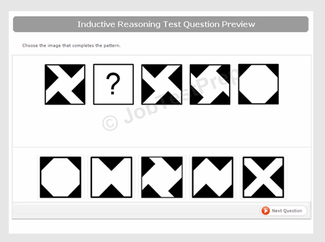 Saville- style Abstract Reasoning Practice Sample 2