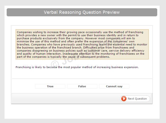 Prepare for Your Graduate Verbal Reasoning Test