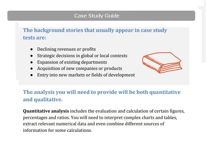 case analysis guide Section 1: presents some good guidelines for preparing cases in general this information will help you prepare your group case to present to the class as well.