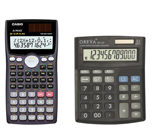 Scientific & Normal Calculators