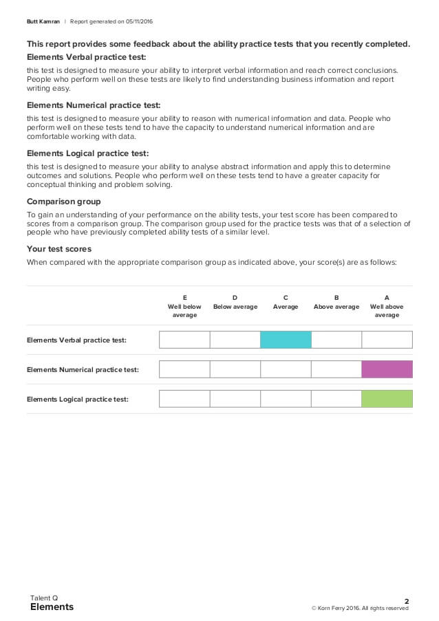 talent q elements korn ferry score report